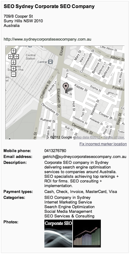 Sydney corporate SEO Services & Programs