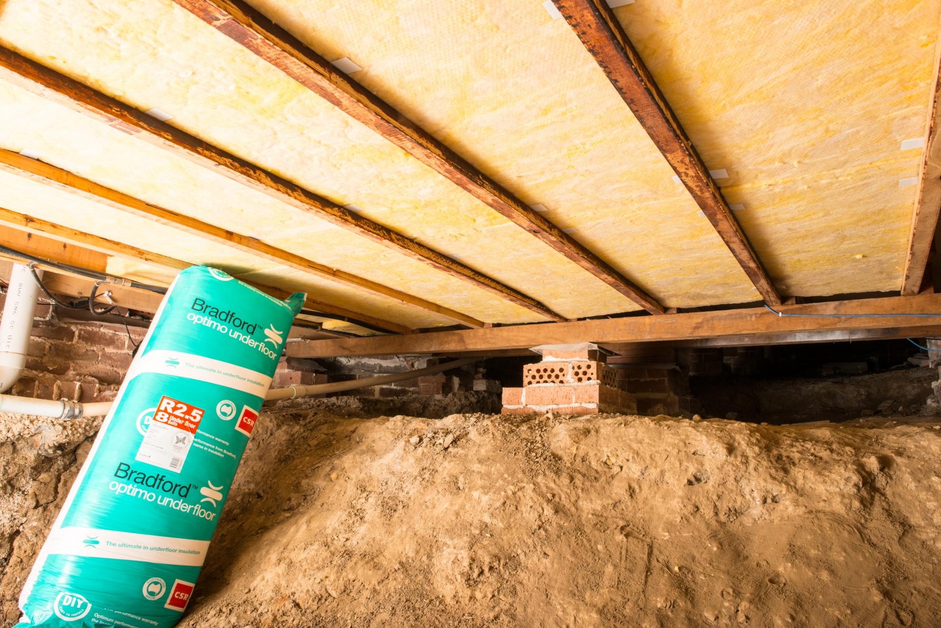 Underfloor Insulation Vs Wall Insulation Sydney