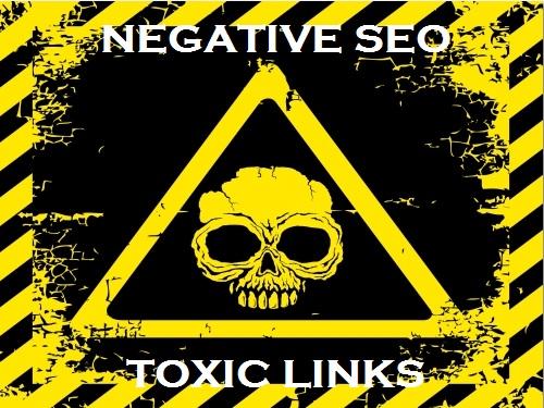 negative SEO toxic links